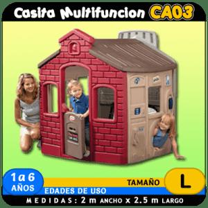 Casita Multifunción CA03