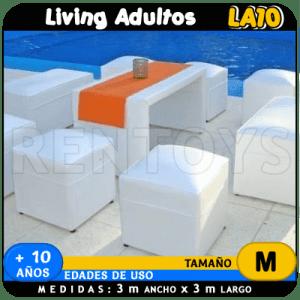 Alquiler de Living de adultos LA10