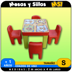 Mesas y Sillas MS1