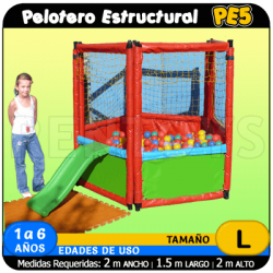 Pelotero estructural PE5