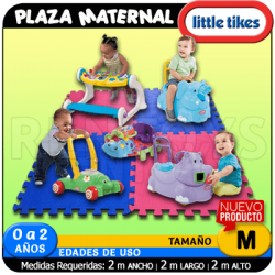 Plaza Maternal LITTLE TIKES