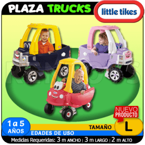 Plaza Trucks Little Tikes