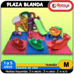 Plaza Blanda PB32 Rotoys