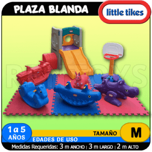 Plaza Blanda PB32 Little Tikes
