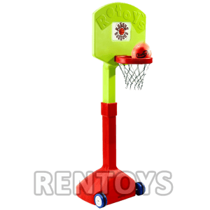 Basquet de Pie regulable Rotoys