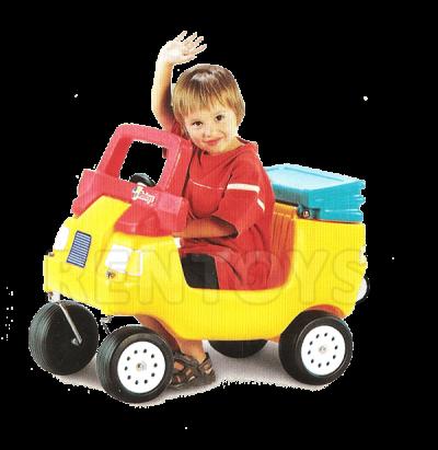 Auto Buggy con baúl Rotoys