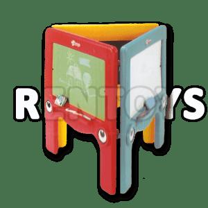 Pizarron Triple Rotoys